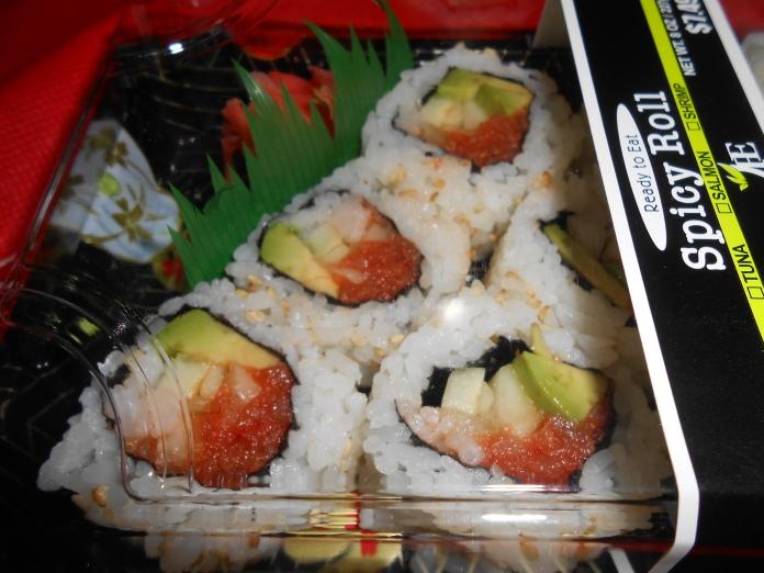 Sushi - first stint