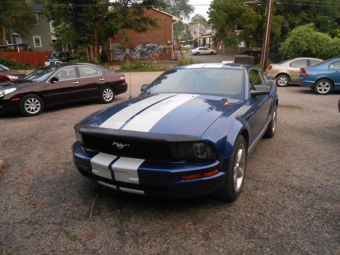 Sid's Mustang