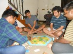 Playing 'The Settlers of Catan' post midnight