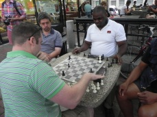 Processional chess masters @Harvard Square